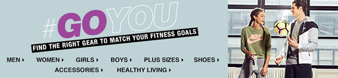 #Goyou, Find the Right Gear to Match Your Fitness Goals, Men, Women, Girls, Boys, Plus Sizes, Shoes, Accessories, Healthy Living