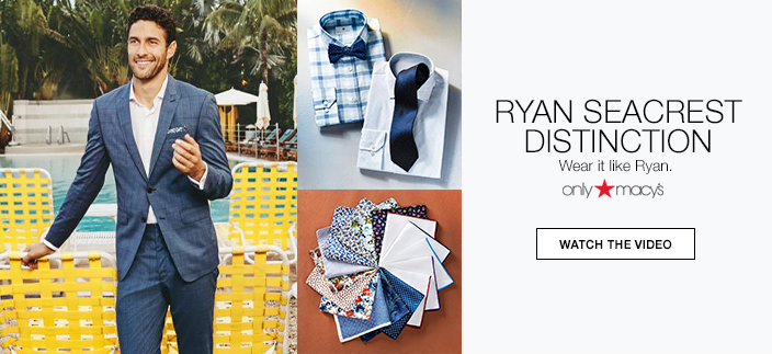 Ryan Seacrest Distinction, Wear it like Ryan, Watch the Video