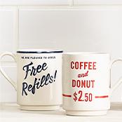 Coffee Mugs and Teacups