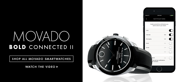 Movado Bold Connected II, Shop all Movado Smartwatches, Watch the Video