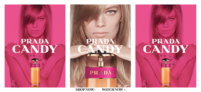 Prada Candy, Shop now, Watch now