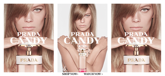 Prada Candy, Shop now, Watch now