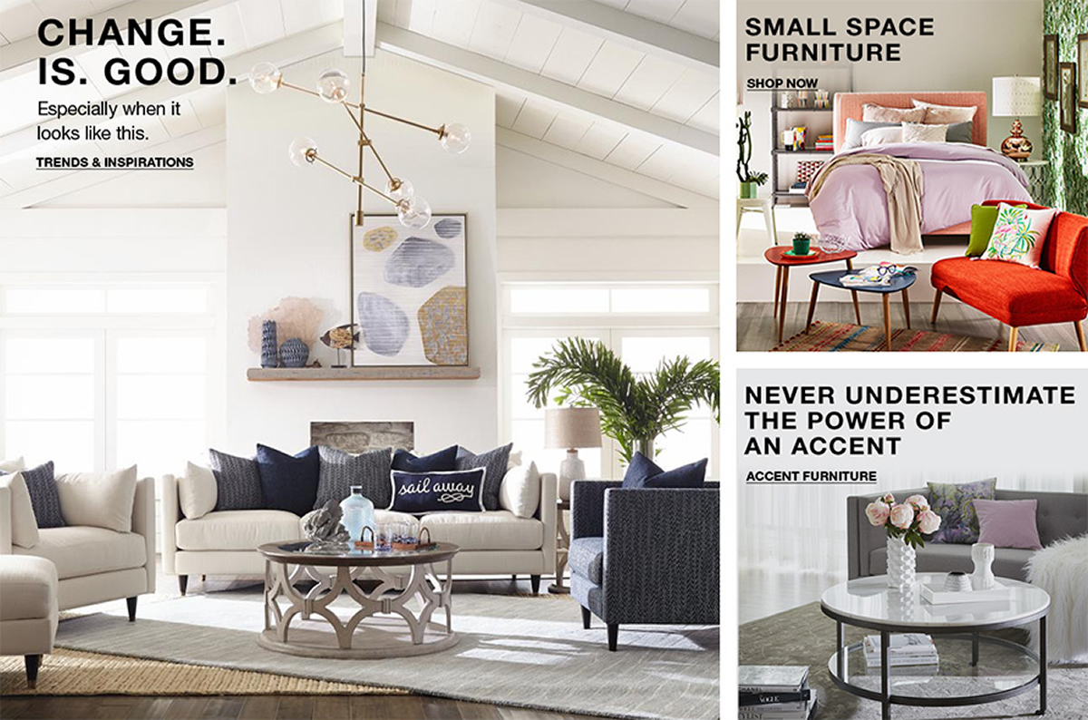 Change is Good, Especially when it looks like this, Trends and Inspirations, Small Space Furniture, Shop Now, Never Underestimate The Power of an accent, Accent Furniture
