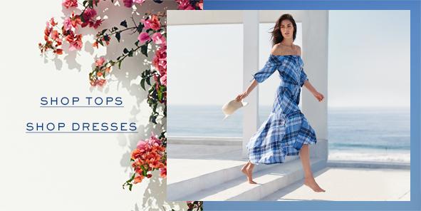Shop Tops, Shop Dresses