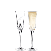 Champagne and Toasting Flutes