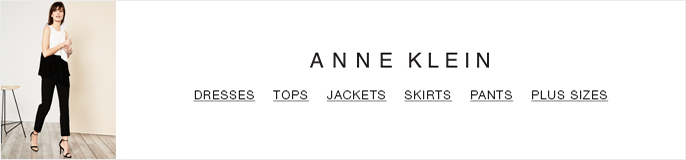 Anne Klein, Dresses, Tops, Jackets, Skirts, Pants, Plus Sizes
