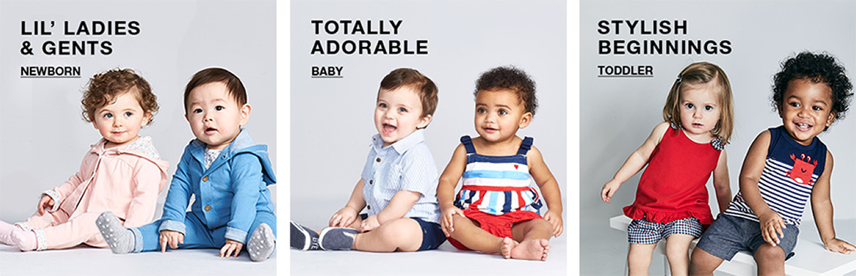 Lil' Ladies and Gents, Newborn, Totally Adorable, Baby, Stylish Beginnings, Toddler