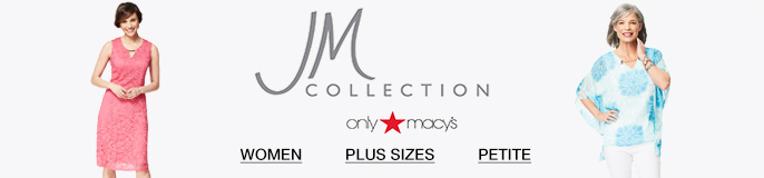 JM Collection, only Macy's, Women, Plus Sizes, Petite