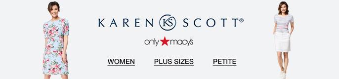 Karen Scott, only Macy's, Women, Plus Sizes, Petite