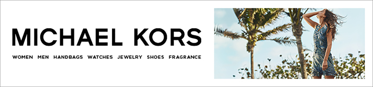 Michael Kors, Women, Men, Handbags, Watches, Jewelry, Shoes, Fragrance