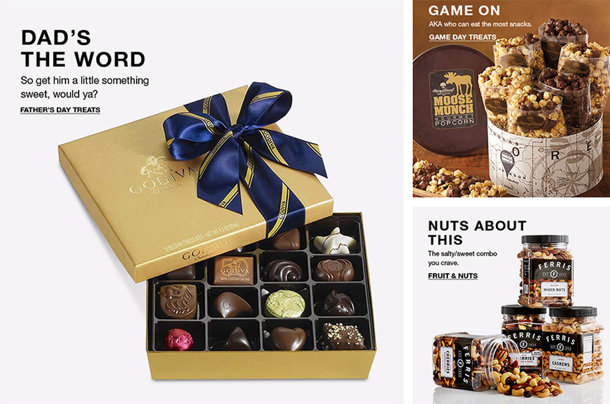 Dad's The Word, Father's Day Treats, Game on, Game Day Treats, Nuts About This, Fruit and Nuts