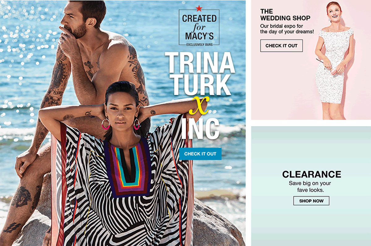 Trina Turk Inc, Check It Out, The Wedding Shop, Check It Out, Clearance, Shop Now
