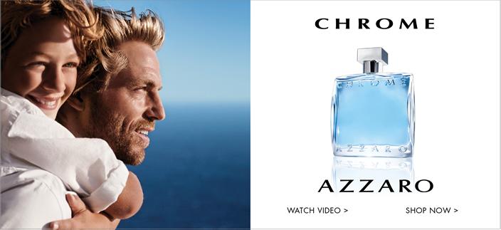 Chrome, Azzaro, Watch Video, Shop now