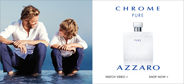 Chrome Pure, Azzaro, Watch Video, Shop now