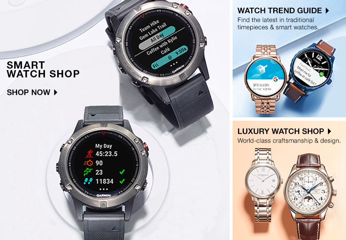 Smart Watch Shop, Shop now, Watch Trend Guide, Find the latest in traditional timepieces and smart watches, Luxury Watch Shop, World-class craftsmanship and design