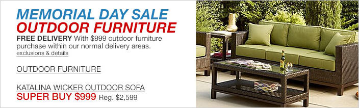 Furniture macy39s for Memorial day sale patio furniture