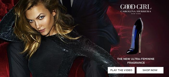Good Girl Carolina Herrera New York, The New Ultra-Feminine Fragrance, Play The Video, Shop now