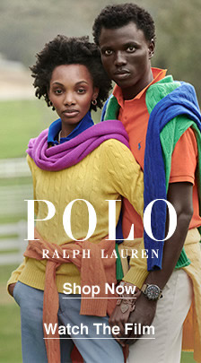 Polo Ralph Lauren, Shop Now, Watch The Film