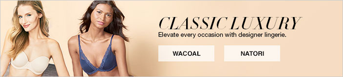 Classic Luxury, Elvate every occasion with designer lingerie, Wacoal, Natori