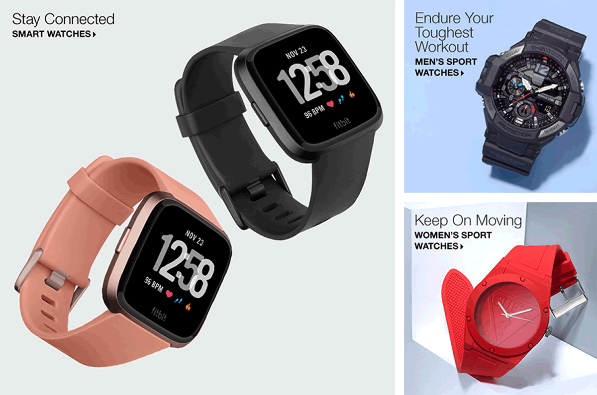 Stay Connected, Endure Your Toughest Workout, Men's Sport Watches, keep On Moving, Women's Sport Watches