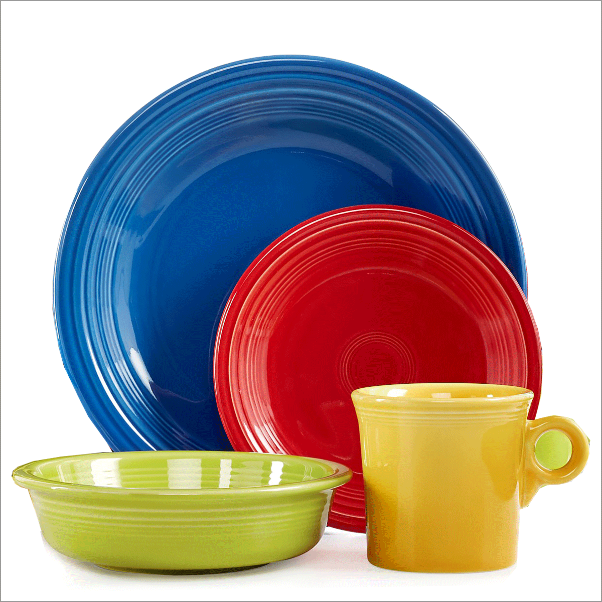 Dinnerware  sc 1 st  Macy\u0027s & Fiestaware Dishes Glasses Mugs \u0026 More - Macy\u0027s