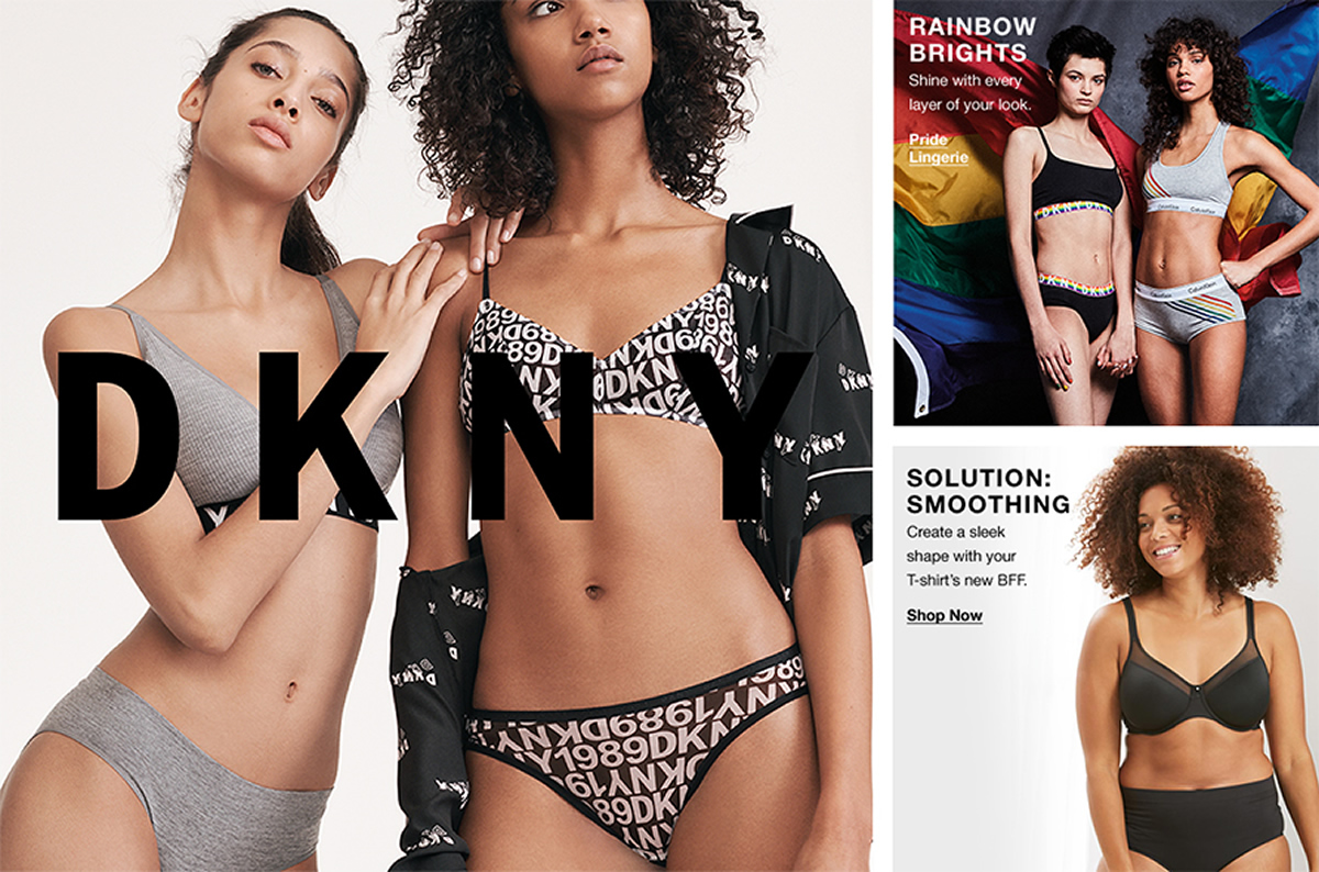 DKNY, Rainbow Brights, Shine with every layer of your look, Pride, Lingerie, Solution Smoothing, Shop Now