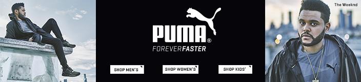 Puma Foreverfaster, Shop Men's, Shop Women's, Shop Kids'
