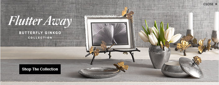 aram michael aram flutter away butterfly ginko collection - Michael Aram Frame