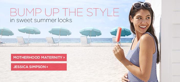 Bump up the Style, in sweet summer looks, Motherhood Maternity, Jessica Simpson
