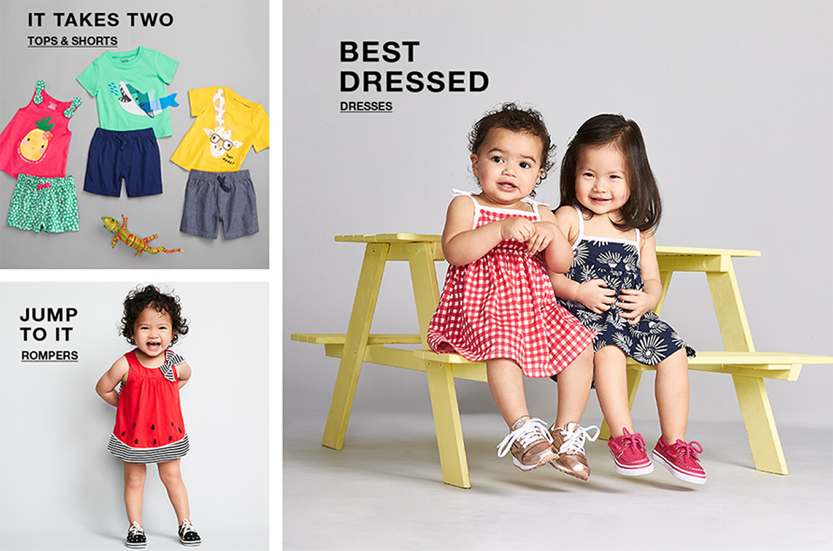 It Takes Two, Tops and Shorts, Jump to it, Rompers, Best Dressed, Dresses