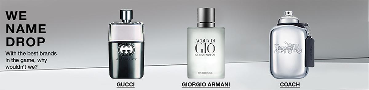 We Name Drop, Gucci, Giorgio Armani, Coach