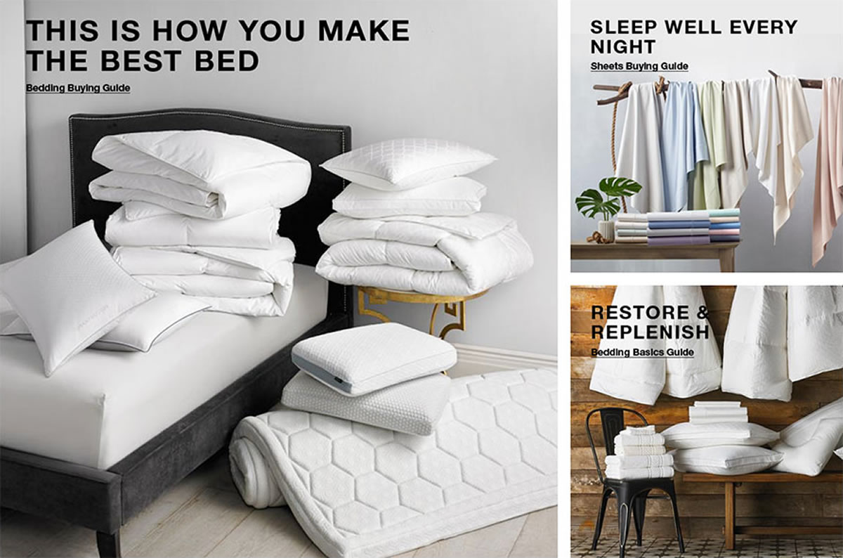 This is How You Make the Best Bed, Bedding Buying Guide, Sleep Well Every Night, Sheet Buying Guide, Restore and Replenish, Bedding Basics Guide