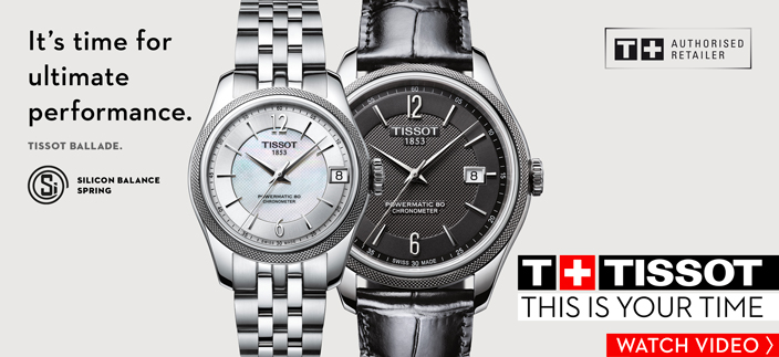 It's time for ultimate performance, Tissot Ballade, T + Tissot, This is Your Time, Watch Video