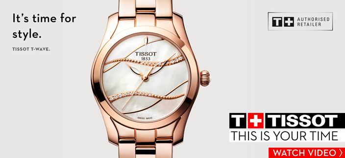 Its time for style, Tissot TWave, T Tissot, This is Your Time, Watch Video