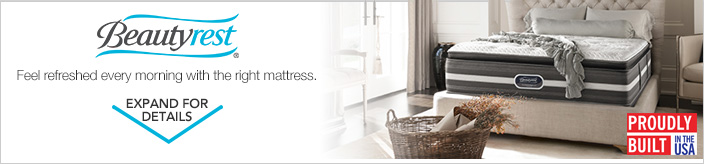 Beautyrest. Feel refreshed every morning with the right mattress.