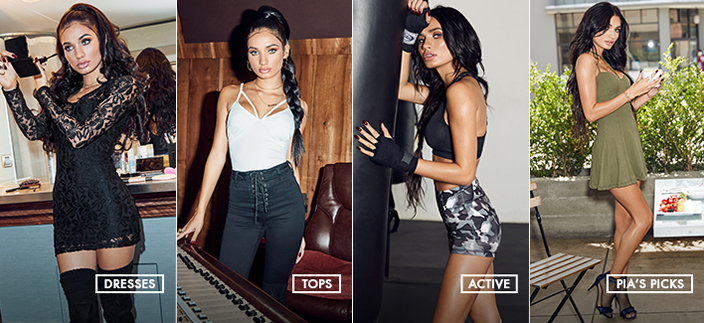 Dresses, Tops, Active, Pia's Picks