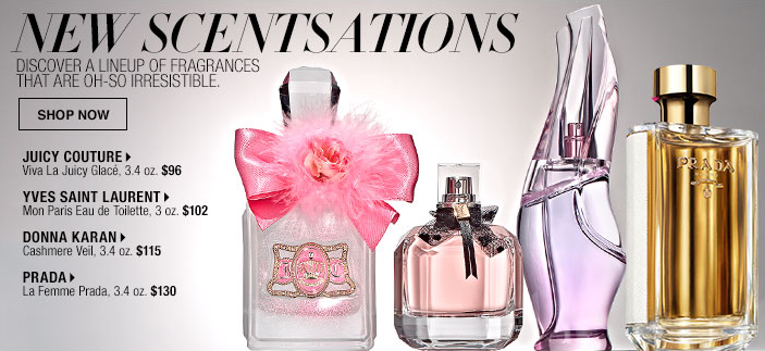 New Scentsations, Discover a Lineup of Fragrances that are oh-so Irresistable, Shop now