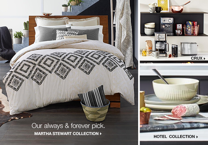 Our always and forever pick, Martha Stewart Collection, Crux, Hotel Collection