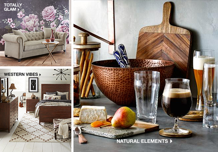 Totally Glam, Western Vibes, Natural Elements