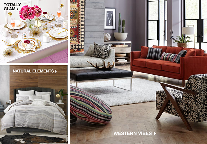 Totally Glam, Natural Elements, Western Vibes
