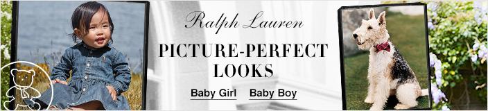 Ralph Lauren, Picture-Perfect Looks, Baby Girl, Baby Boy