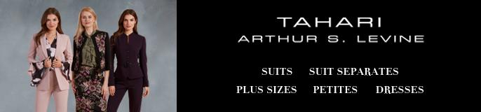 Tahari, Arthur s, Levine, Suits, Suit Separates, Plus Sizes, Petites, Dresses