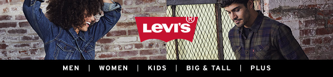 Leve's, Men, Women, Kids, Big and Tall, Plus