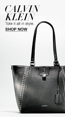 Calvin Klein, Tote it all in style, Shop now