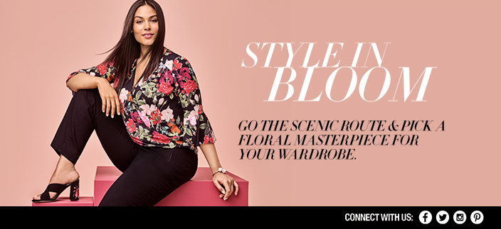 Style in Bloom, go The Scenic Route and Pick a Floral Masterpiece For Your Wardrobe, Connect with us