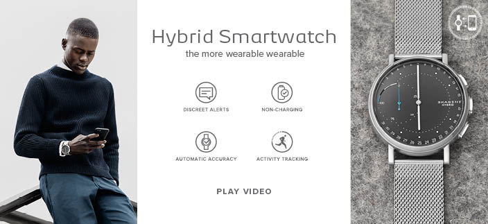 Hybrid Smartwatch the more wearable wearable, Play Video