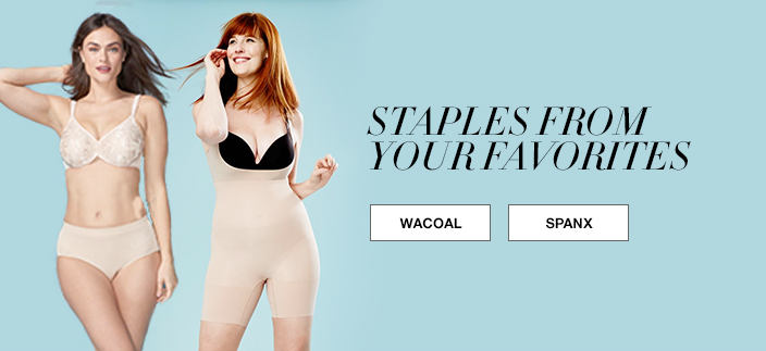 Staples From Your Favorites, Wacoal, Spanx