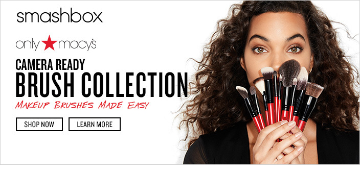 Smashbox Camera Ready Brush Collection, Makeup Brushes Made Easy, Shop now, Learn More