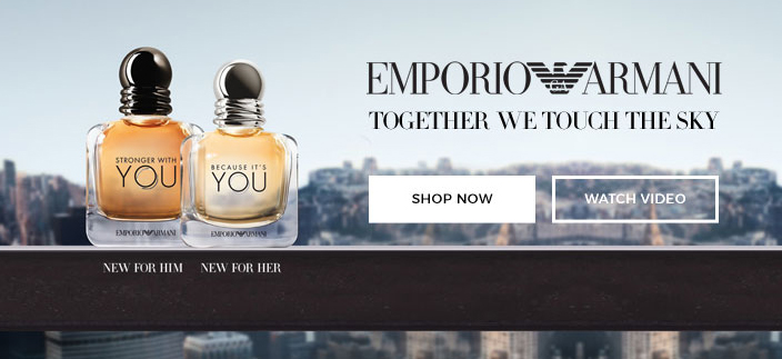 Emporio Armani Together we Touch the Sky, Shop now, Watch Video