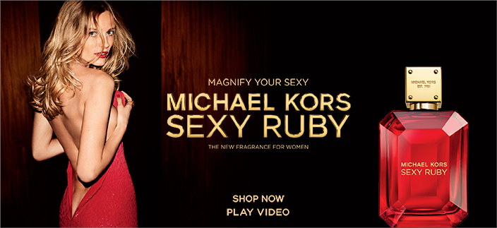Magnify Your Sexy, Michael Kors Sexy Ruby, Play Video